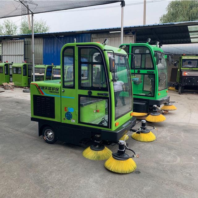 新疆电动扫地车